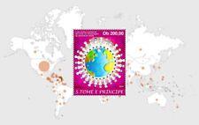 SAO TOME PRINCIPE 2020 - SOUV. SHEET BLOC - JOINT ISSUE - CORONA PANDEMIC - MNH