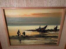 Manila, Philippines Landscape Oil Painting by Filipino artist Eddie Sarmiento