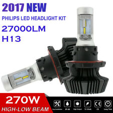 2X Lumiled H13 270W 6500K LED HEADLIGHT CONVERSION KIT BULBS HI/LO BEAM BALLAST