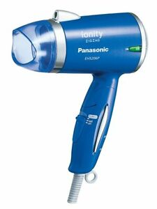 Panasonic Ionitis Minus Ion Hair Dryer ZIGZAG Blue EH 5206P-A