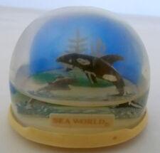 1977 SEA WORLD SNOWDOME HONG KONG NO. B SNOW GLOBE DOME PLASTIC