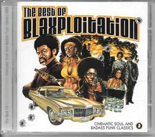 CD COMPIL 15 TITRES--THE BEST OF BLAXPLOITATION - CINEMATIC SOUL & BADASS FUNK