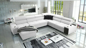 Brand new corner sofa bed with storage Morena VIII