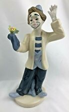 Porcelain Pastel Clown Figurine - Made in Mexico Ps 1993