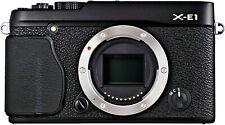 [NEAR MINT] Fujifilm X Series X-E1 16.3MP Digital SLR Camera Black Body (N123-1)