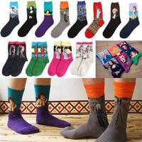 Creative Unisex Causal Socks Women Men Famous Art Painting Funny Novelty Socks