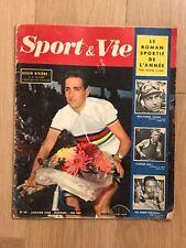 Livre - Sport et Vie - Roger RIVIERE - Hachette - n°20 - Janvier 1958 - Book