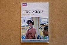 BBC PERSUASION  JANE AUSTEN      BRAND NEW SEALED GENUINE UK DVD