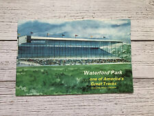 Vintage Waterford Park Travel Brochure Chester West Virginia 1950's Vacation