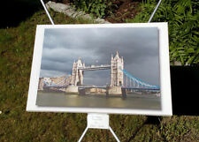 FOTO auf LEINWAND *60 x 40 cm*London-Tower Bridge*Welt*GB*Bild*Wanddeko*wie NEU*