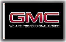 GMC Black Banner Wall Decor Flag 3x5ft 90x150cm Garage Best banner