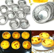 FD3159 Disposable Aluminum Foil Baking Cups Egg Tart Pan Cupcake Case ~250PCs~