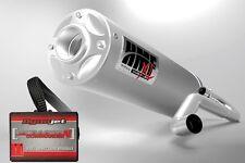 HMF Titan Loud XL Full Exhaust + Dynojet PCV PC5 Polaris RZR 800 S 2008 - 2010