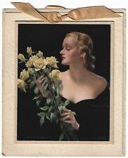 Vintage 1939 Glamor Pin-Up From My Sweetheart Bradshaw Crandell Calendar Sample