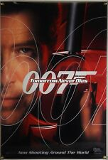 TOMORROW NEVER DIES DS ROLLED ADV ORIG 1SH MOVIE POSTER JAMES BOND 007 (1997)