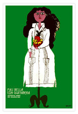 Cuban movie Poster 4 film More Beautiful in Guayabera.Room home wall design art