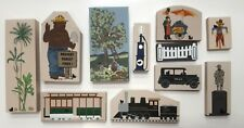 The Cats Meow Currier Ives American Homestead Smokey Bear Accessories Lot of 11