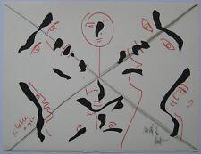 COCTEAU JEAN MORETTI RAYMOND LITHOGRAPHIE SIGNÉE NUM/79 SIGNED NUMB LITHOGRAPH