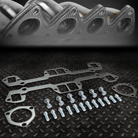 FOR 64-03 MOPAR SBC SMALL BLOCK LA V8 ENGINE EXHAUST MANIFOLD HEADER GASKET SET