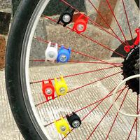 2Pcs Frog led bike light Bicycle Silicone Rear Safety Warning Wheel LED Lamp