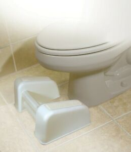 Re-Lax Toilet Footrest Stool Comfortable Bowel Healthy Movements PRIVATE LISTING