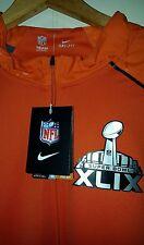 Nike Platinum Fly Rush NFL Super Bowl Pullover Jacket: Large (NWT) 704133-820