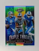 2018 Contenders Optic Triple Threat Matthew Stafford Jones Jr. Golladay /175