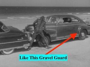 NOS PONTIAC 1941 MODEL 26 STREAMLINER GRAVEL GUARD DRIVER SIDE     e