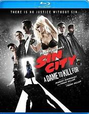 Frank Millers Sin City: A Dame to Kill For (Blu-ray Disc With Movie Money) New!