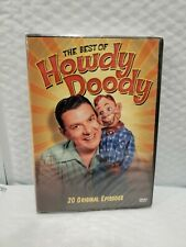 The Best of Howdy Doody DVD 20 Original Episodes 2008 2-Disc Set NEW SEALED!