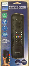 Philips Elite Plus 4-Device Companion Remote Control with Flip & Slide for Roku