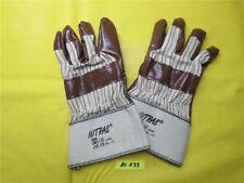 1 Paar Nitras 3401 Nitril Handschuhe Gr. 10 Arbeitshandschuh Stulpe EN 388