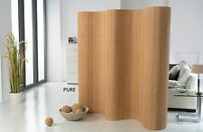 Paravent Colour CLASSIC Bamboo Room Divider divider Wall Screen 17mm Slats