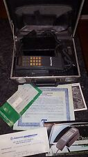Vintage Mitsubishi Mesa 40 Cellular Cell Phone In TeleCase Rare Tech Works
