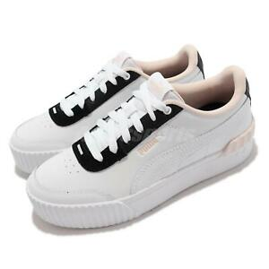Puma Carian Lift White Pink Black Women Casual Lifestyle Shoes Sneaker 373031-14