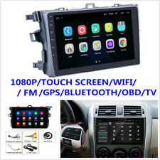 """For Toyota Corolla 2006-12 9"""" Android 9.1 Quad-core Stereo Radio GPS Mirror Link"""
