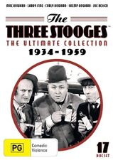 The Three Stooges Ultimate Collection DVD Box Set 2016, 17-Disc Set R4 New