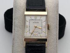 Jaeger LeCoultre Vacheron Men's Gold Filled Watch