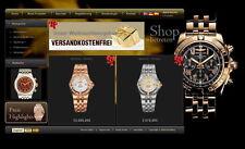 Webprojekt Uhrenshop Dropshipping Grosshändler Onlineshop