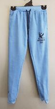 BNWT Girls Sz 10 Light Blue Marle Rivers Brand Fleecy Casual Track Pants