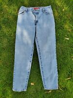 Womens Vintage Size 14 L 550 Levi's Relaxed Fit Tapered Leg High Waisted Jeans