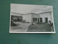 1947 THE COURTYARD AT THE WESTWARD HO HOLIDAY CENTRE NORTH DEVON RP POSTCARD