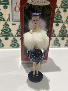 Barbie As Gay Parisienne Christmas Hallmark Keepsake Ornament New In Box