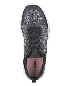 Capsule Black/Pink Active Trainers EEE Fit Size 4/37
