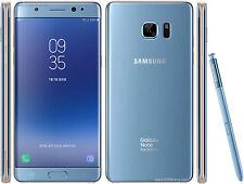 """Samsung Galaxy Note FE FAN EDITION N935 Note 7 Blue 64GB 5.7"""" Phone By FedEx"""