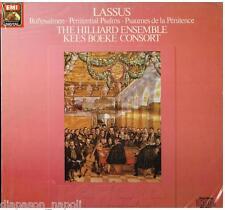 Lassus: Penitential Psalms (SAlmi Della Penitenza) / Hilliard Ensemble - LP EMI