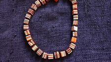 Sobral Orange Liquorice Cube Necklace
