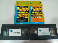 Novecento Bernardo Bertolucci Teil 1+2 - VHS Kassette Spanisch