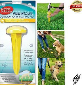 Simple Solution Pee Post | Outdoor Dog Training Aid | Pheromone Infused Dog Pee