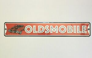 Oldsmobile Cutlass 442 Embossed Metal Sign Wall Art Man Cave Decor GM A Body